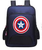 Trouxa do menino personalizado da trouxa da estudante do Schoolbag do estilo do capitão América da classe 1-3-6