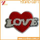 Dimensión de una variable de encargo Chenile Embroiderypatch para la ropa (YB-pH-02)