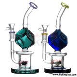 Tubulações de água de vidro e tubulações para a venda 2017