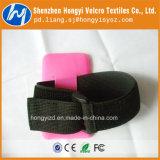 Fita mágica elástica Eco-Friendly do gancho e do Velcro do laço