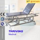 De Kar van de Brancard van het Vervoer van het Roestvrij staal van het ziekenhuis