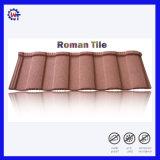 Installation facile des matériaux de construction enduits de pierre tuiles romaines
