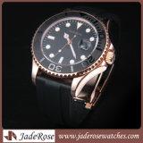 Het Horloge van het Roestvrij staal van het Horloge van het Leer van het Horloge van de manier