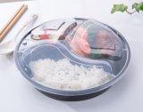 Casella di pranzo di plastica a gettare divisa di Bento del contenitore di memoria dell'alimento dei pp