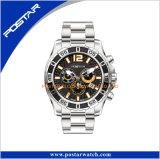 Reloj mecánico automático del corchete de la mariposa del acero inoxidable 316L de los relojes de Mens