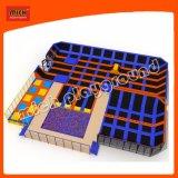 Trampoline intérieure durable de haute qualité pour la vente de lit, lit de saut