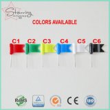 chevilles procurables de poussée d'indicateur d'onde de couleurs en plastique de la tête 6 de 30mm