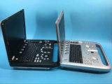 Computer portatile bianco Sun-800d portatile di Doppler del nero veterinario animale di ultrasuono