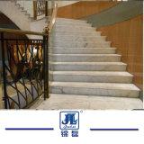 Mármol y granito natural escalera de piedra para Interior escaleras y elevadores en la Villa y hoteles