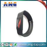 13.56MHz Silikonintelligenter RFID Wristband für Eignung-Verein