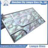 Lamelliertes Kristallglas mit Seeshell