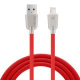 2A ayunan cable del USB del relámpago y cable de la sinc. de los datos para el móvil del iPhone