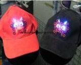 Les chapeaux de Reflex avec clip de lumière LED réflectif chapeaux
