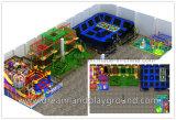 El Parque de Diversiones de nuevo diseño de interiores y exteriores curso de la cuerda de aventura