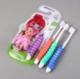 Cepillo de dientes suave de los cabritos y de los niños del cepillo de dientes del bebé