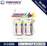 1.2V Rechargeable Low Self Discharge Nickel Hydride Metal Clouded Fatory Battery (HR6-AA 2500mAh)