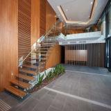 계단 유리제 가로장/발코니 유리 난간
