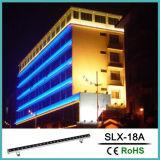 18W RGB wasserdichtes LED Wand-Unterlegscheibe-Licht für Dekoration (Slx-18A)