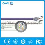 Câble Ethernet Hot Sale de qualité supérieure CAT6une U/Type de câble UTP à paires torsadées non blindées par mètre Câble LAN