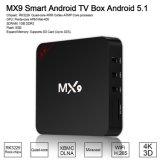 Mx9 Android телевизор в салоне S905X Quad Core Android 6.0 OS 2 ГБ оперативной памяти+16 ГБ ROM потокового проигрывателя 4K телевизор .