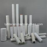 """Fabricante de Guangzhou PP Jumbo ferida de cadeia de sedimentos do cartucho do filtro de água 5 Mícron 10X4,5"""" 20X4,5''"""