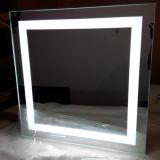Зеркало ванной комнаты гостиницы зеркала СИД ванной комнаты ETL светлое с светом