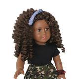 Вьющиеся волосы lovely girl виниловая кукла черного цвета