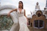 Laço que perla o vestido de casamento destacável dos vestidos nupciais da esfera da sereia