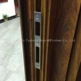 Раздвижная дверь стекла профиля деревянной передачи тепла зерна алюминиевая