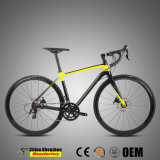 700c Shimano 22speed Aluminiumstraßen-Laufenfahrräder mit Kohlenstoff Gabel