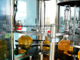 Pequeña empaquetadora de relleno linear llena del aceite de mesa de la botella del precio bajo automático y