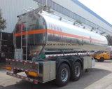 2 Fuwa оси прицепа нефтяных танкеров 37000L Полуприцепе бака из нержавеющей стали