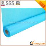 Azul não tecido Eco-Friendly do papel de envolvimento no. do presente da flor 24 L.