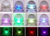 전기 조정된 속도 LED 빛 급수 공기 정화기