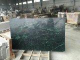 Populärer immergrüner indischer grüner Marmor für Dekoration-Wand-Fußboden-Fliesen