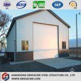 Cloche structurale en acier pré conçue portique vite assemblée de mémoire de bâti
