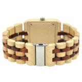 Mouvement quartz de haute qualité au Japon des hommes Montres bracelet Montres de bois Hommes