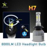 Doppio ventilatore luminoso eccellente all'ingrosso due tre faro laterale della PANNOCCHIA 8000lm 6500K 36W H4 H7 LED
