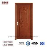 Portello di legno del MDF del portello di legno del PVC con il disegno del portello a livello