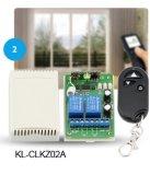 regulador alejado sin hilos con./desc. Kl-K101 del interruptor 433MHz RF
