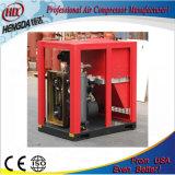 Compresor de aire del tornillo del mecanismo impulsor de correa