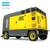AC Atlas Copco Heavy Duty impulsada directa de energía diesel compresor de aire de tornillo rotativo