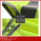 100% de poliéster de alta visibilidade colete de protecção roupas (W388)