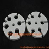 Alto disco di ceramica puro Al2O3 di 95% per il supporto del riscaldamento