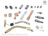 La fabbrica ha personalizzato le parti di metallo di giro di CNC usate sull'automobile