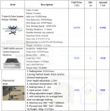 Stampatrice manuale dello schermo della tessile del carosello di TM-R6K 6-Color