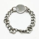 Мода украшения Bangle Silver простой браслет из нержавеющей стали