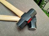 Американского типа деревянной ручкой молотка салазочного долговременного качества хорошей цене ручного инструмента