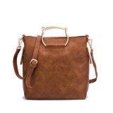 형식 디자인 바느질 부대 PU 가죽 숙녀 어깨에 매는 가방 핸드백