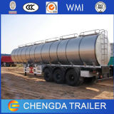 3 ejes 42000L semi remolque cisterna de combustible/ Petrolero Trailer